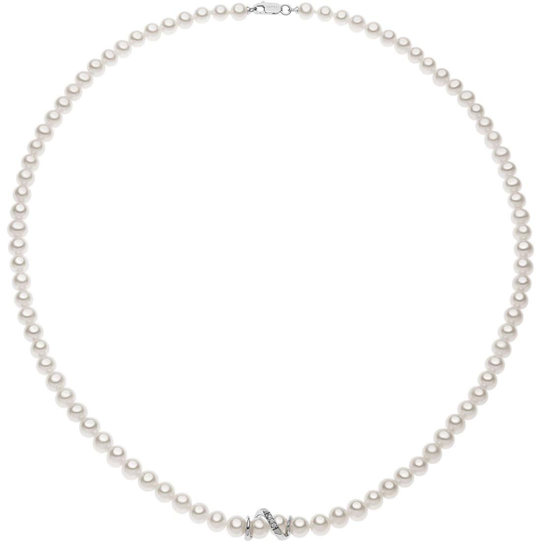 collier femme bijoux Comete Perle FWQ 219