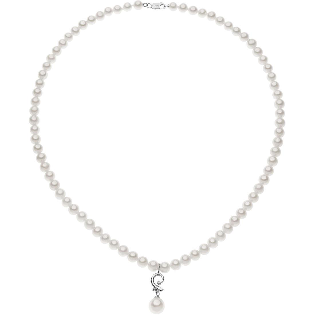 collier femme bijoux Comete Perle FWQ 223