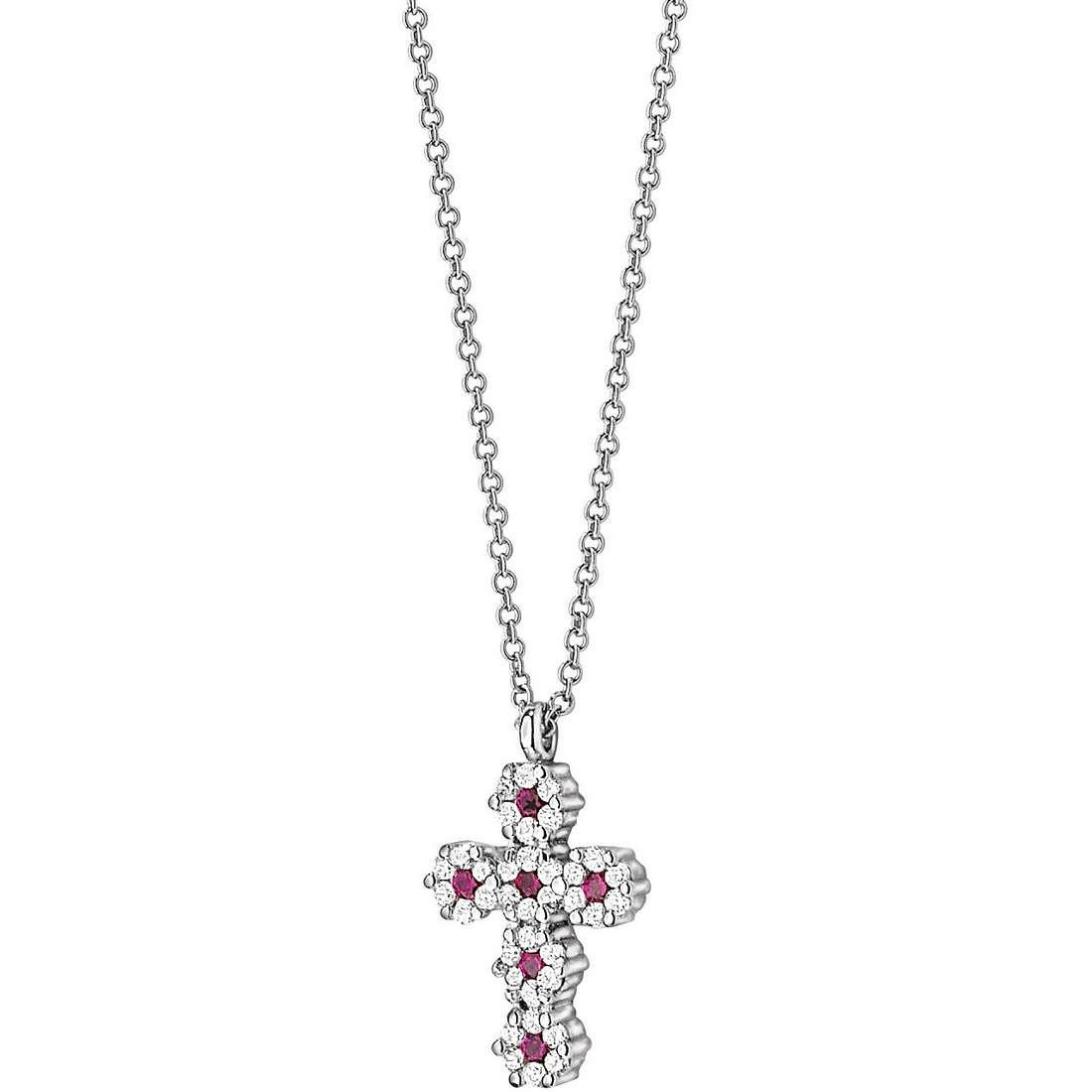 collier femme bijoux Comete Pietre preziose colorate GLB 628