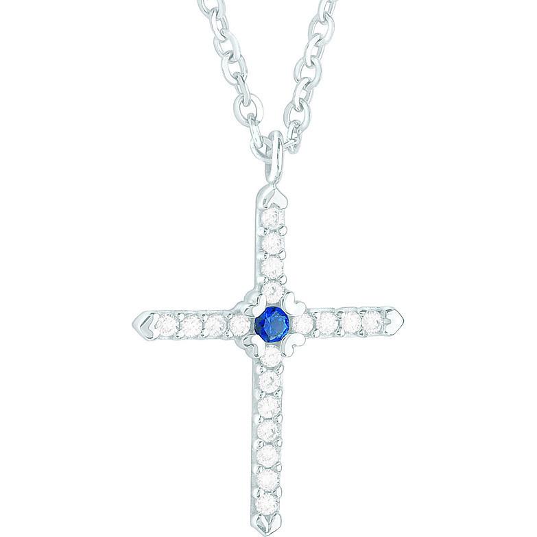 collier femme bijoux Comete Pietre preziose colorate GLB 741