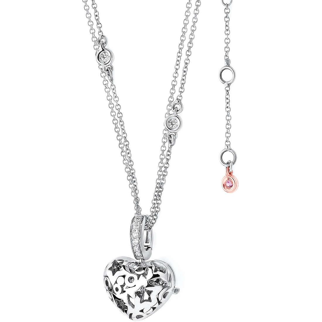 collier femme bijoux Comete Pietre preziose colorate GLB 789