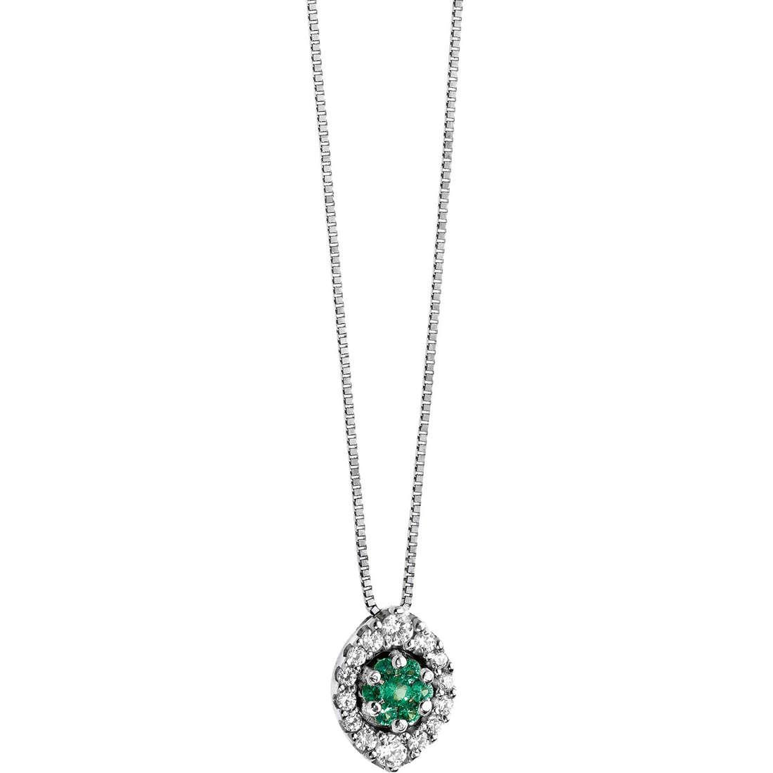 collier femme bijoux Comete Pietre preziose colorate GLB 809