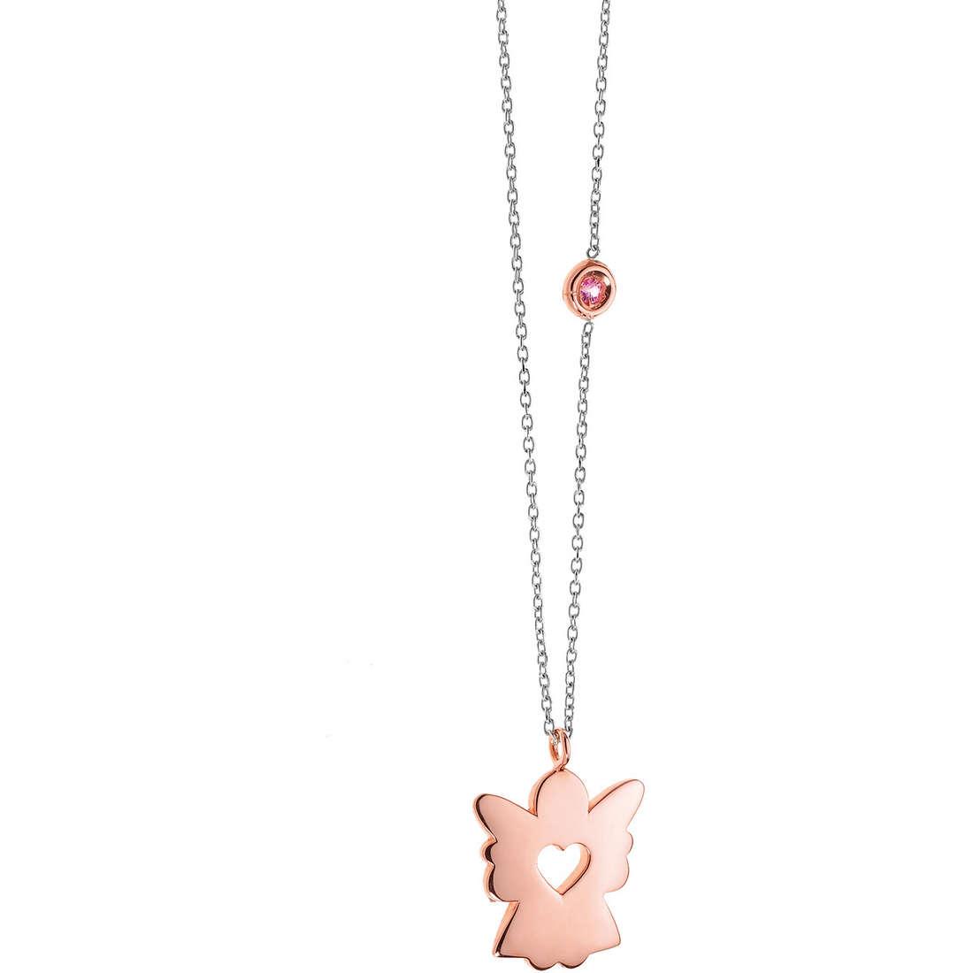 collier femme bijoux Comete Pietre preziose colorate GLB 810