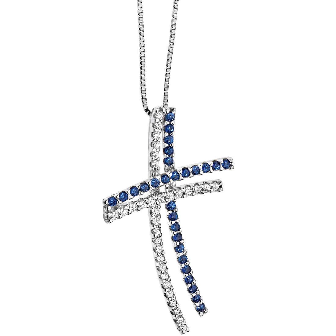 collier femme bijoux Comete Pietre preziose colorate GLB 820