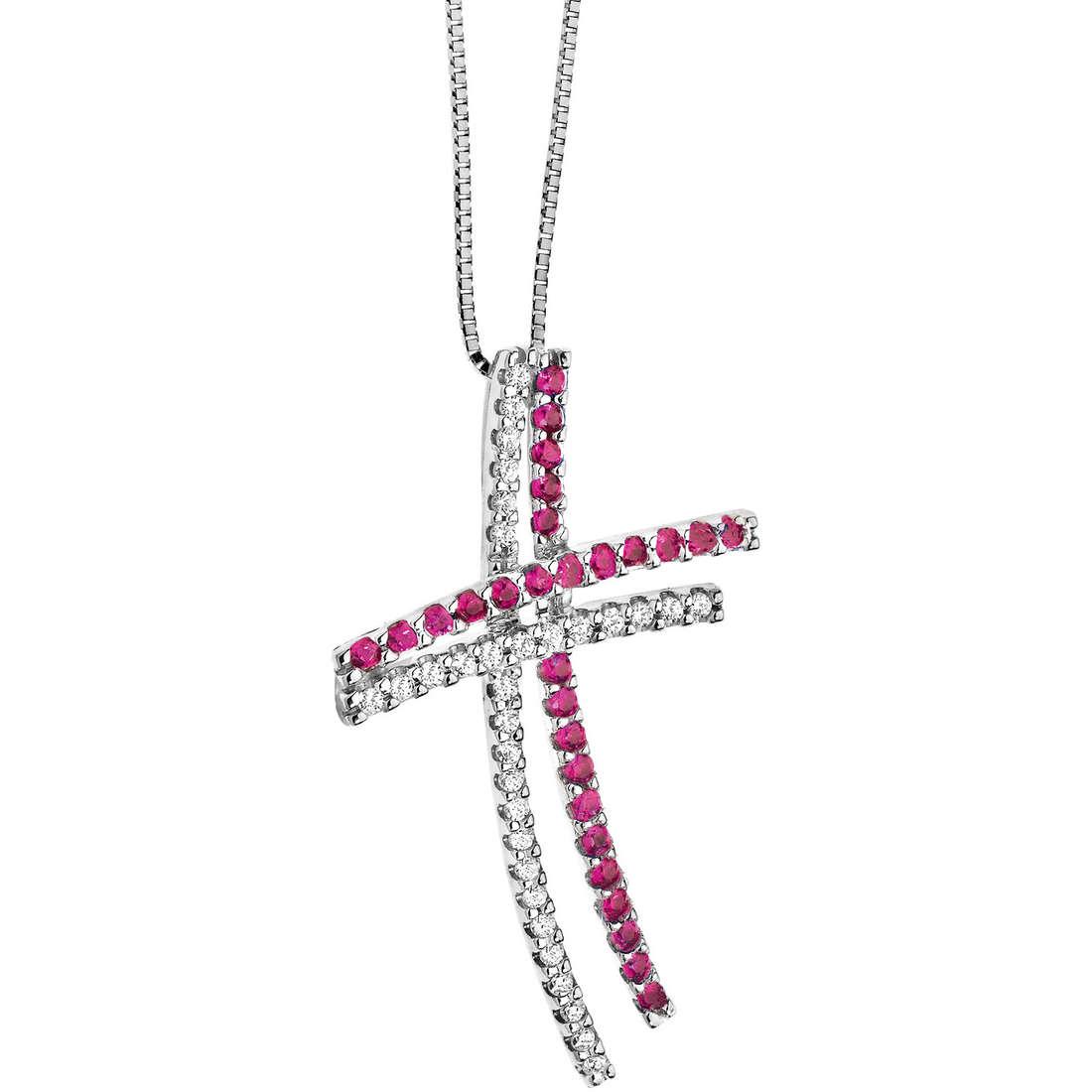 collier femme bijoux Comete Pietre preziose colorate GLB 821