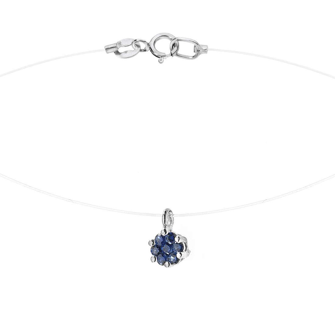 collier femme bijoux Comete Pietre preziose colorate GLB 873