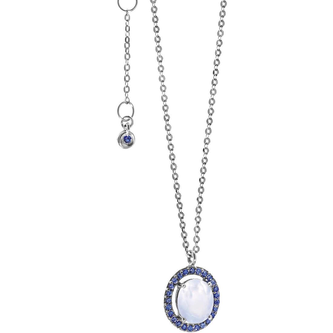 collier femme bijoux Comete Pietre preziose colorate GLB 896