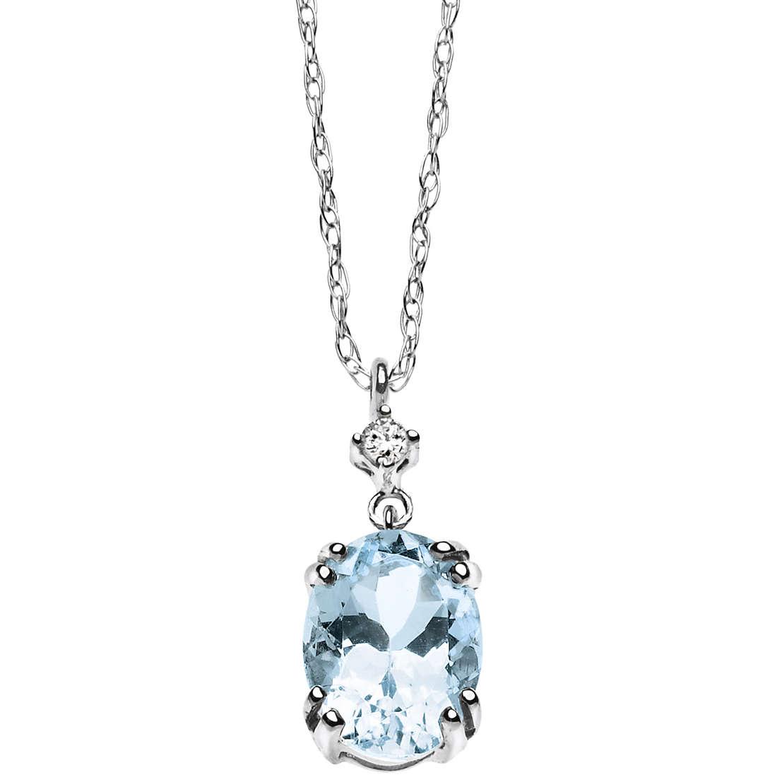 collier femme bijoux Comete Pietre preziose colorate GLB 909