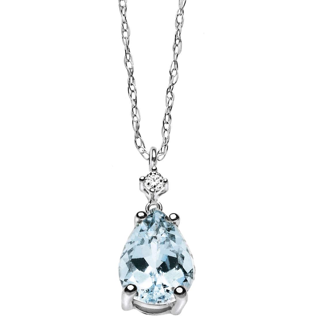 collier femme bijoux Comete Pietre preziose colorate GLB 910