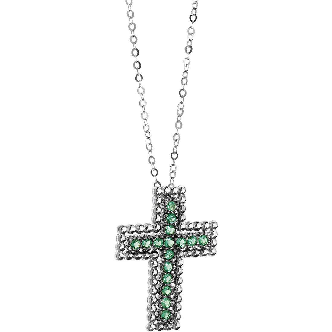 collier femme bijoux Comete Pietre preziose colorate GLB 941