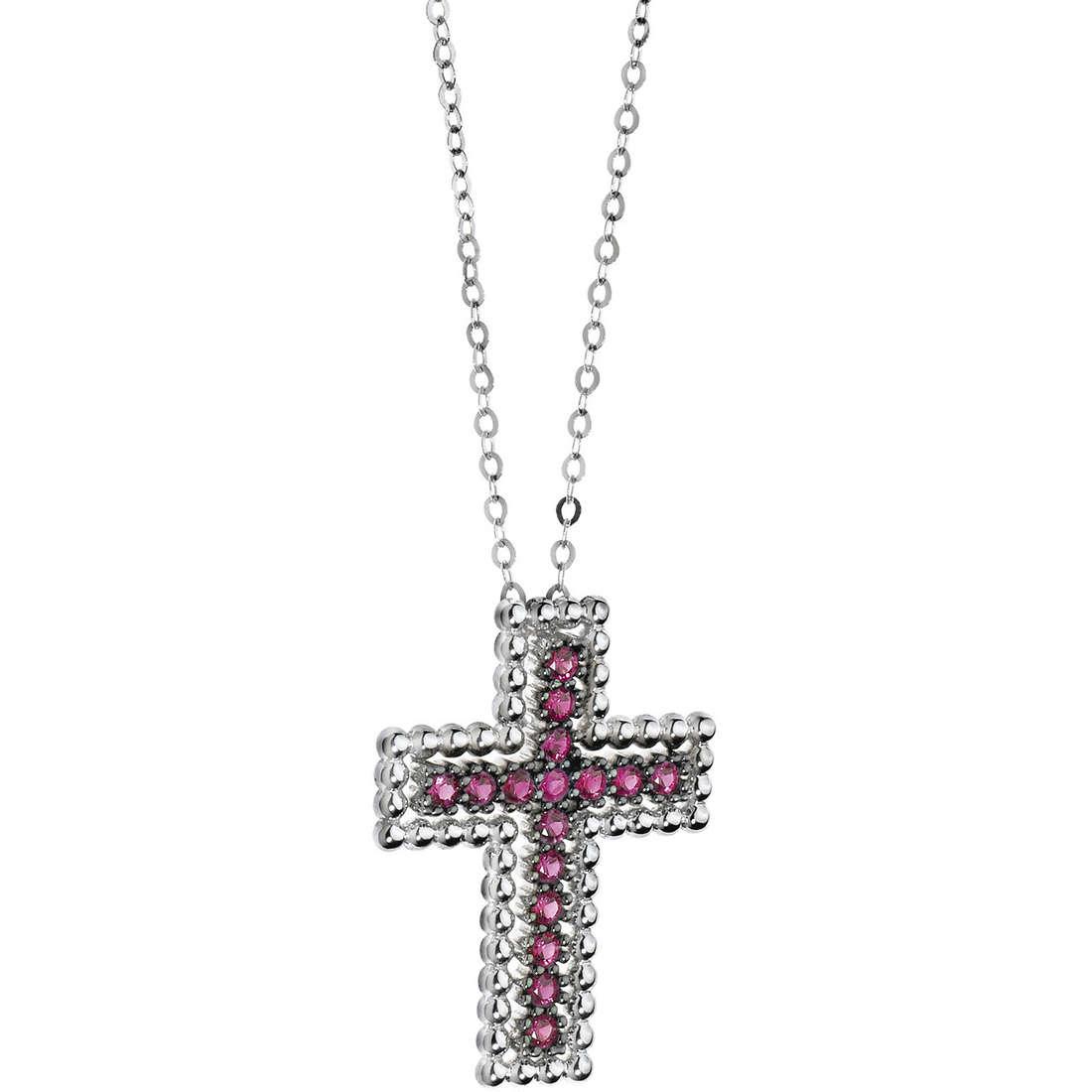 collier femme bijoux Comete Pietre preziose colorate GLB 943