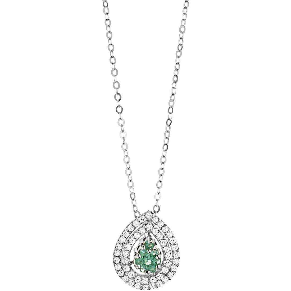 collier femme bijoux Comete Pietre preziose colorate GLB 953