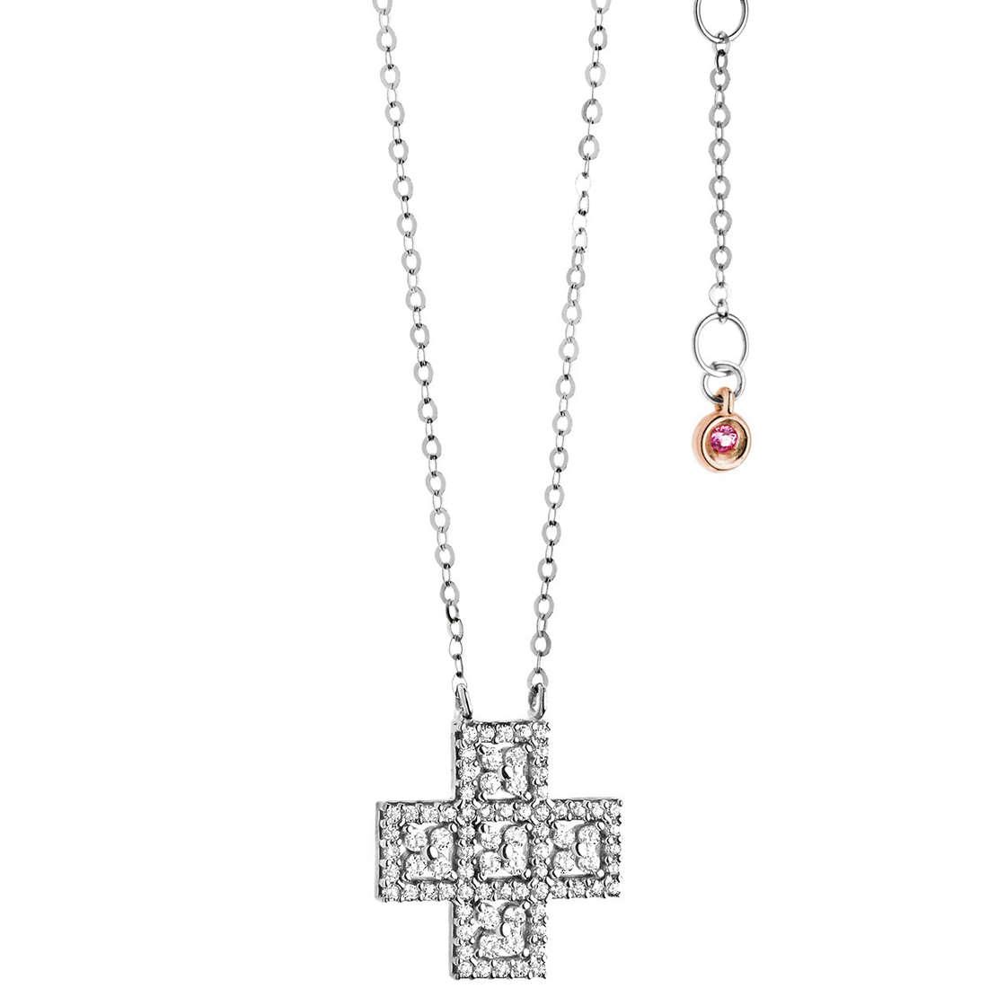 collier femme bijoux Comete Pietre preziose colorate GLB 964