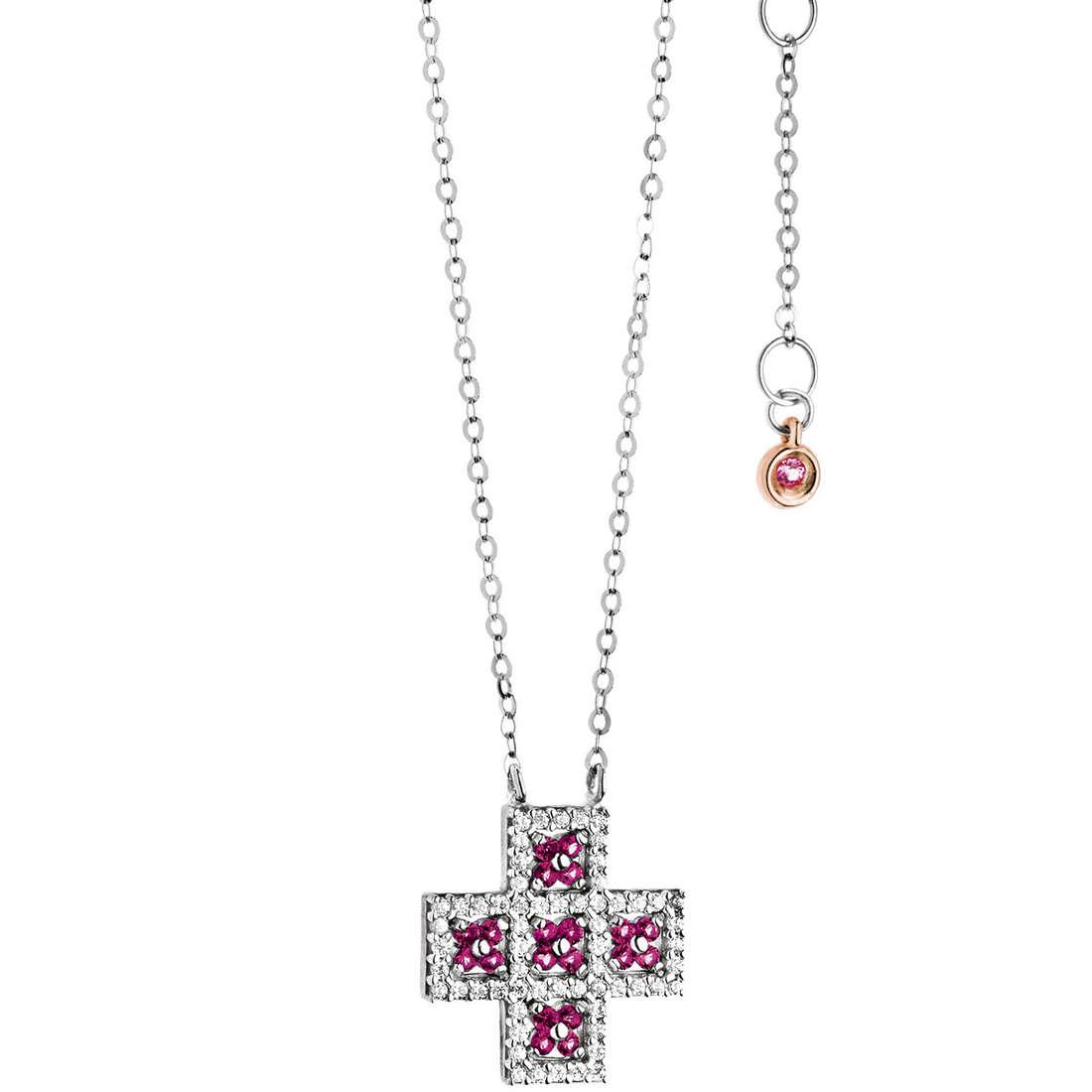 collier femme bijoux Comete Pietre preziose colorate GLB 966