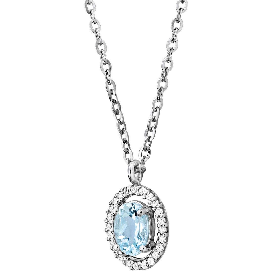 collier femme bijoux Comete Pietre preziose colorate GLQ 224