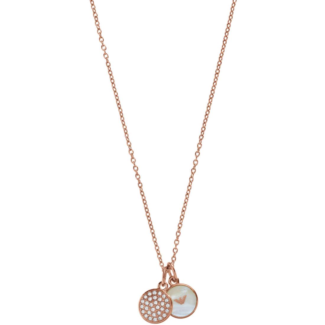 collier femme bijoux Emporio Armani EGS2158221