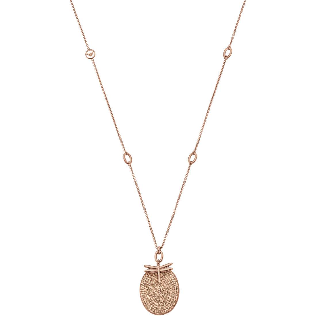 collier femme bijoux Emporio Armani Fall 2013 EGS1783221
