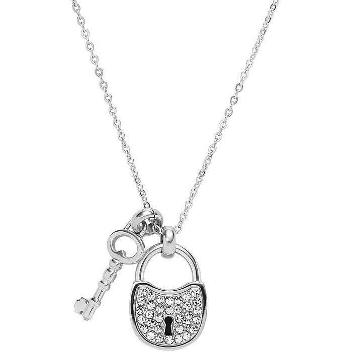 collier femme bijoux Fossil JF00088040
