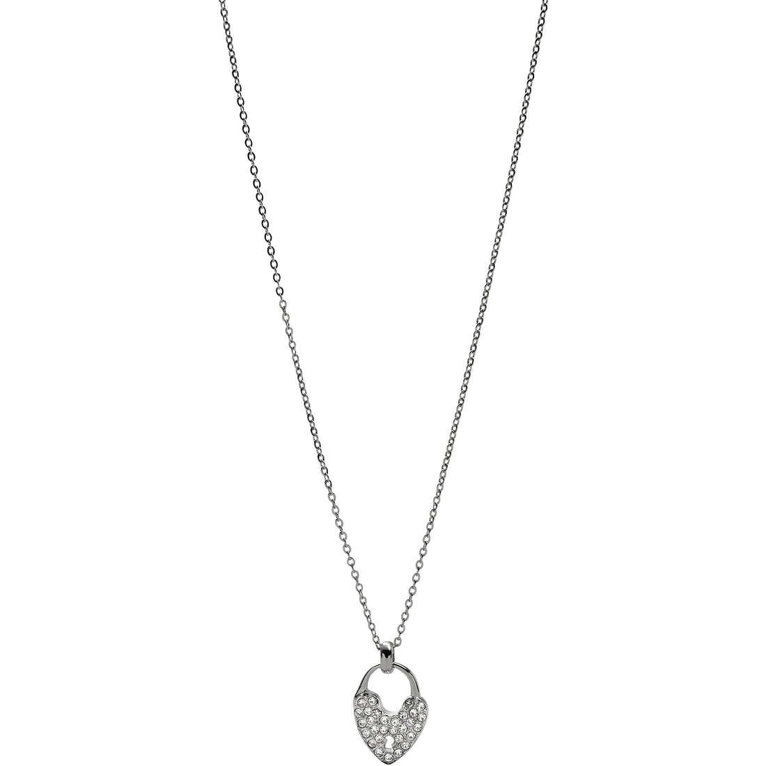 collier femme bijoux Fossil JF00294040