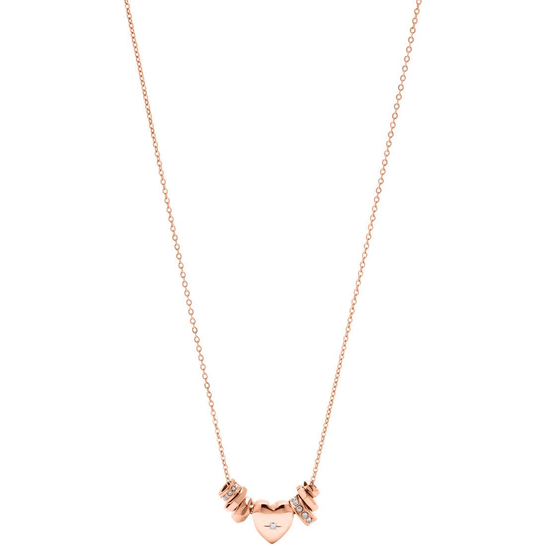 collier femme bijoux Fossil JF00649791
