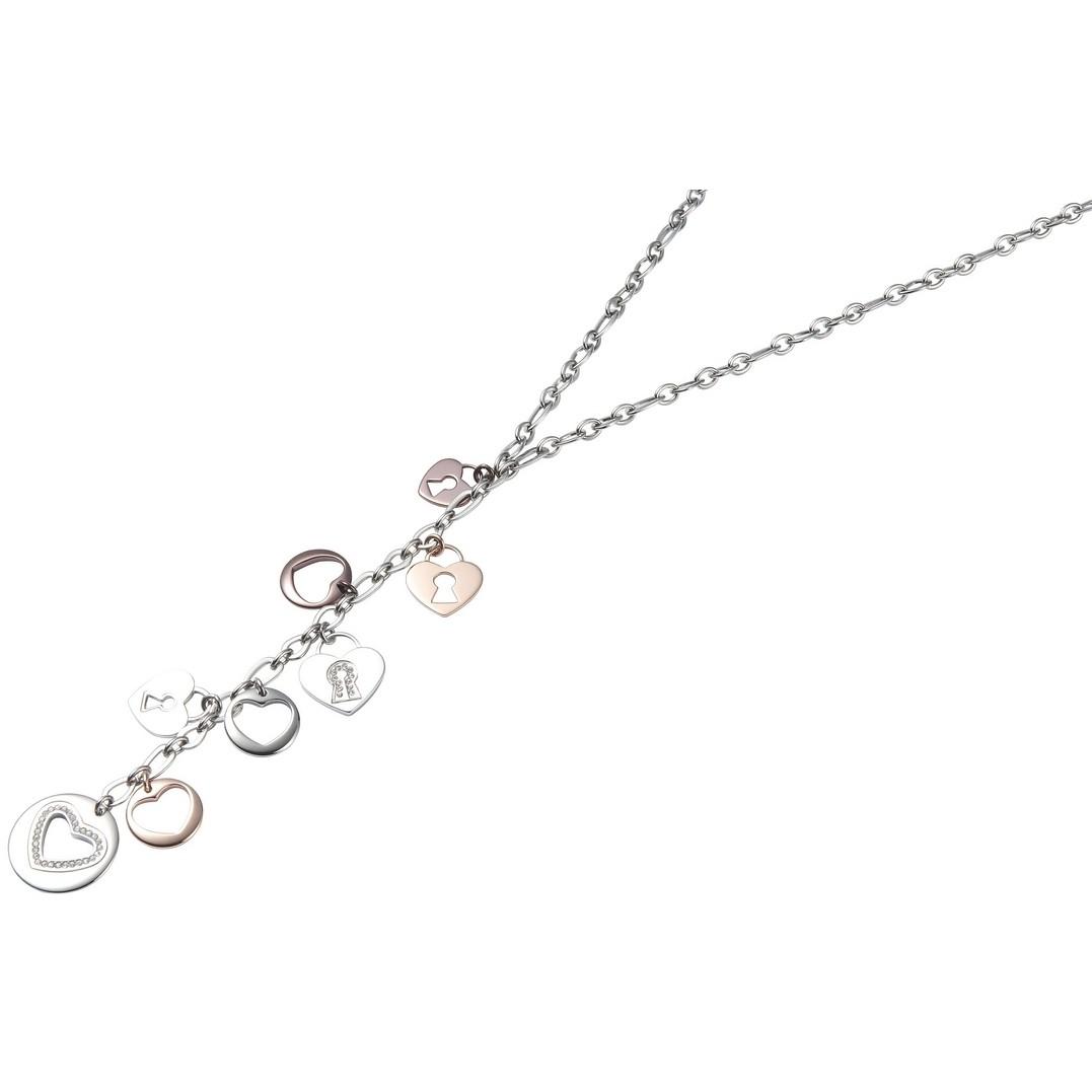 collier femme bijoux Fossil JF84013040
