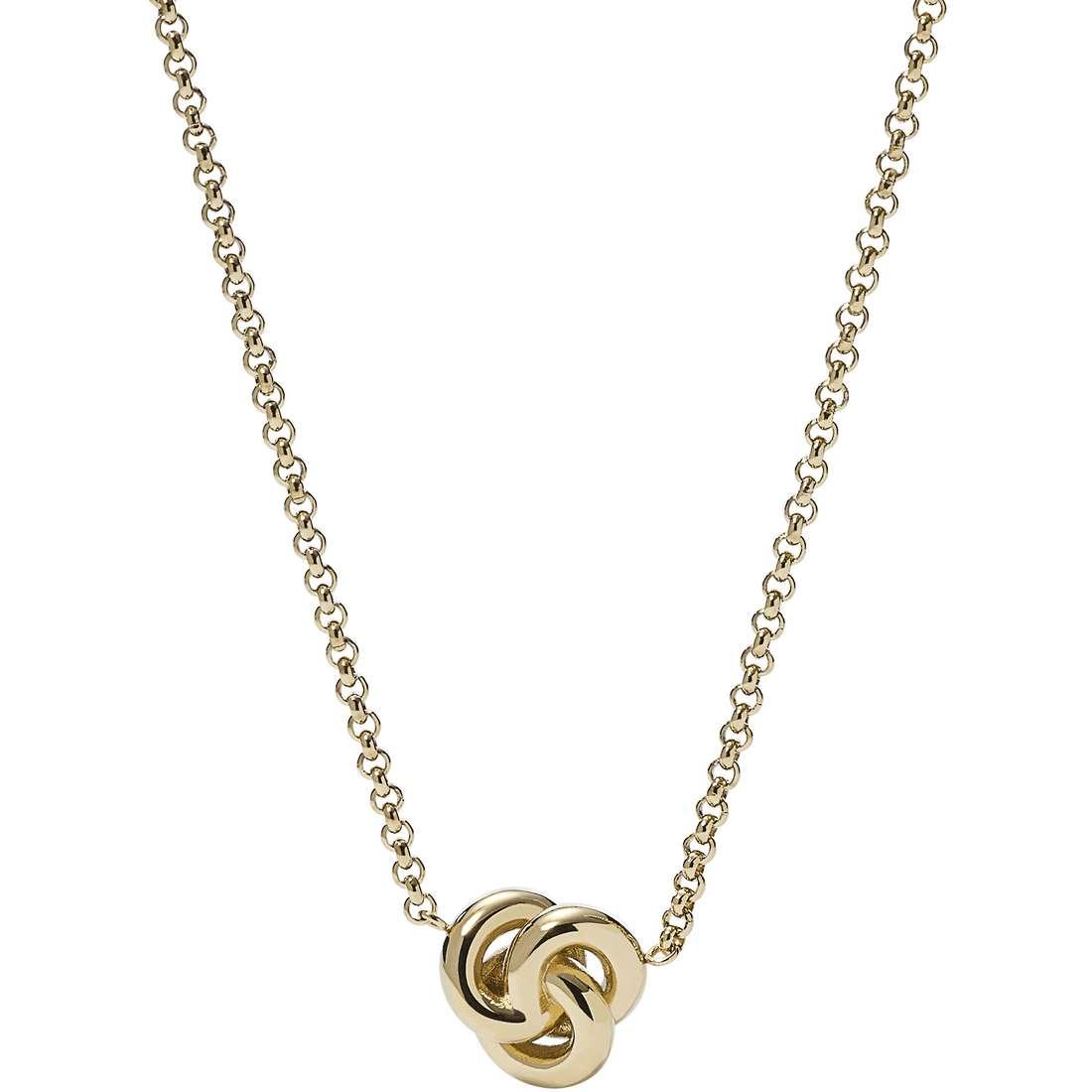 collier femme bijoux Fossil Summer 15 JF01909710