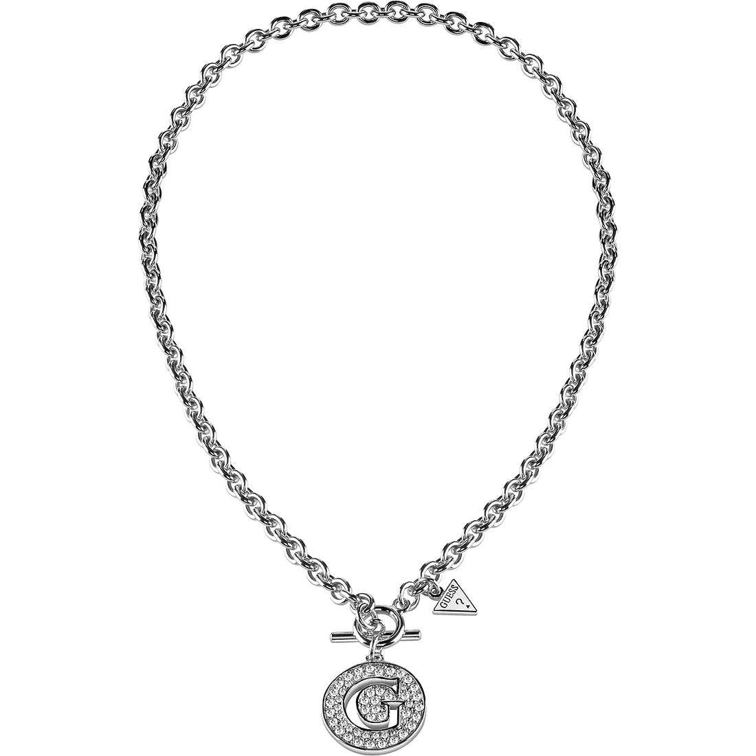 collier femme bijoux Guess G Girl UBN51486