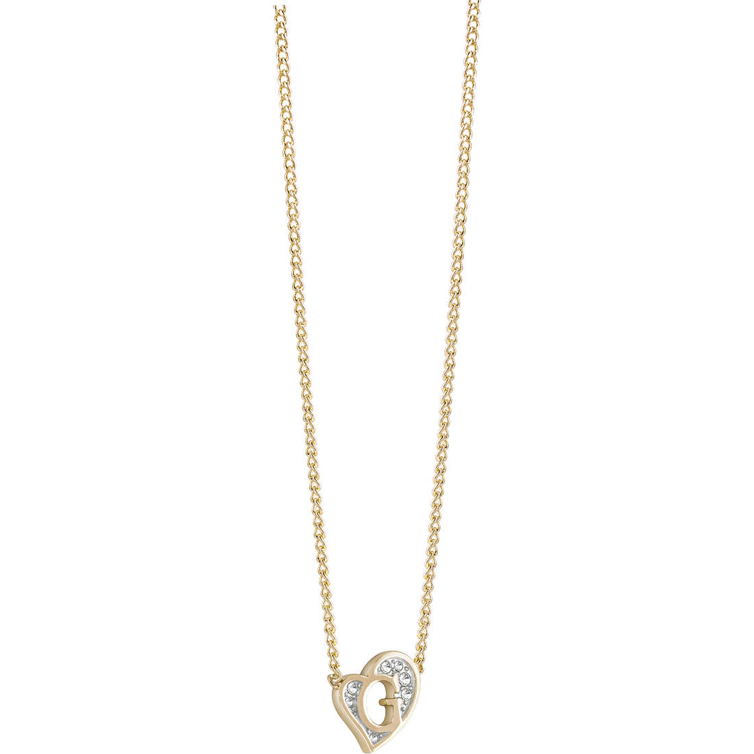 collier femme bijoux Guess G Hearts UBN71537