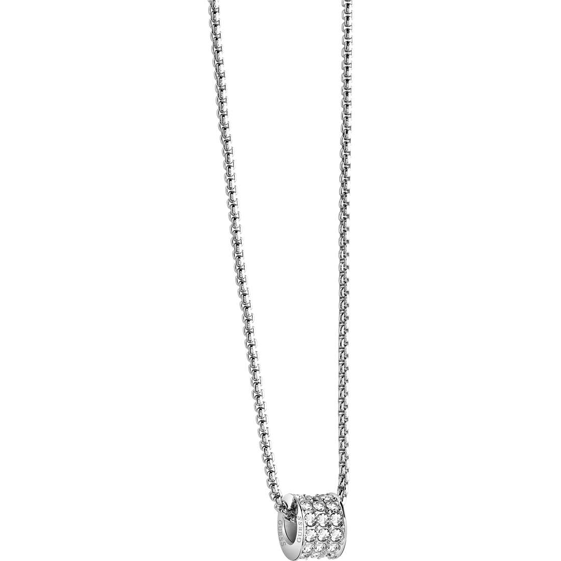 collier femme bijoux Guess G Rounds UBN21589