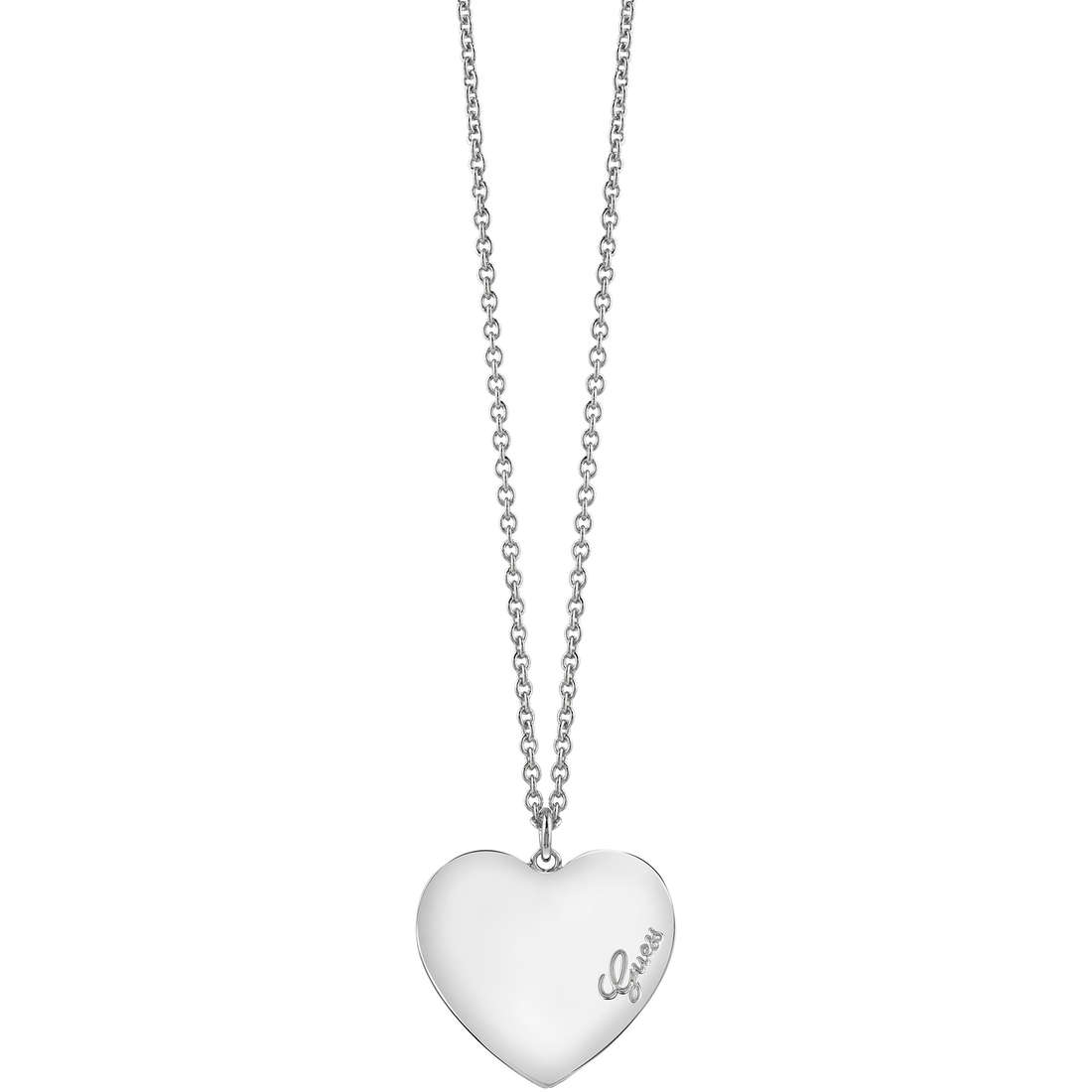 collier femme bijoux Guess Heartbeat UBN61050
