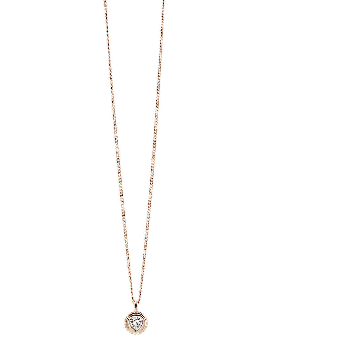 collier femme bijoux Guess Rose Gold UBN21531