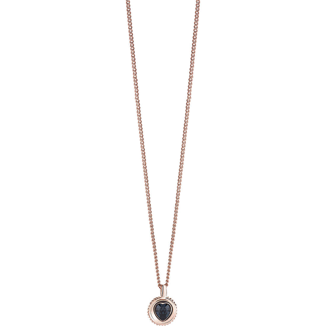 collier femme bijoux Guess Rose Gold UBN21532
