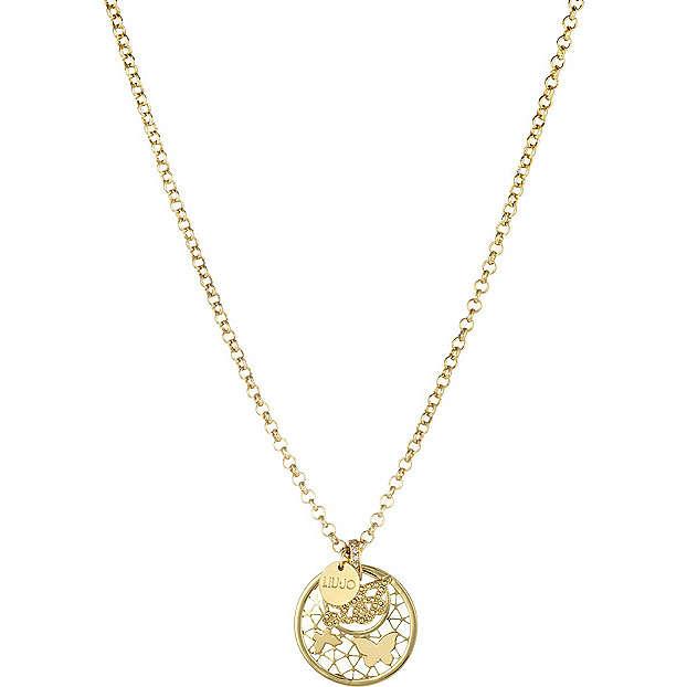 collier femme bijoux Liujo Brass LJ816