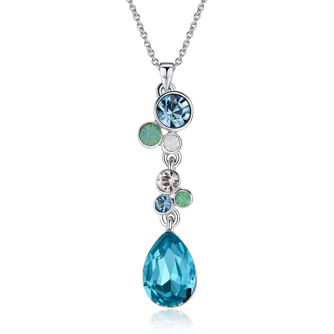 collier femme bijoux Luca Barra LBCK1007
