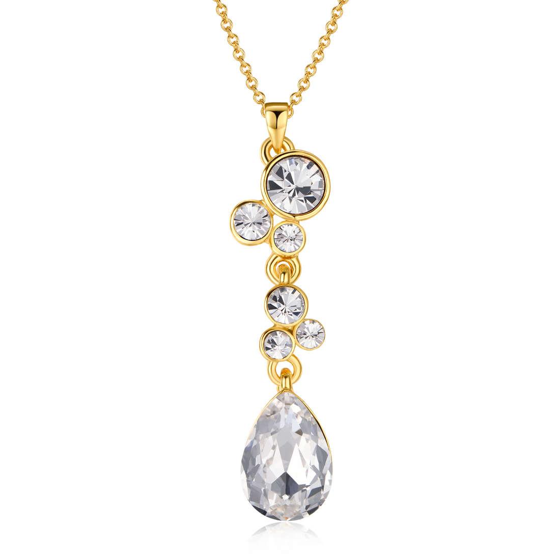 collier femme bijoux Luca Barra LBCK1008