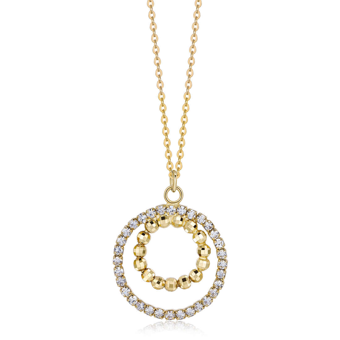 collier femme bijoux Luca Barra LBCK1077