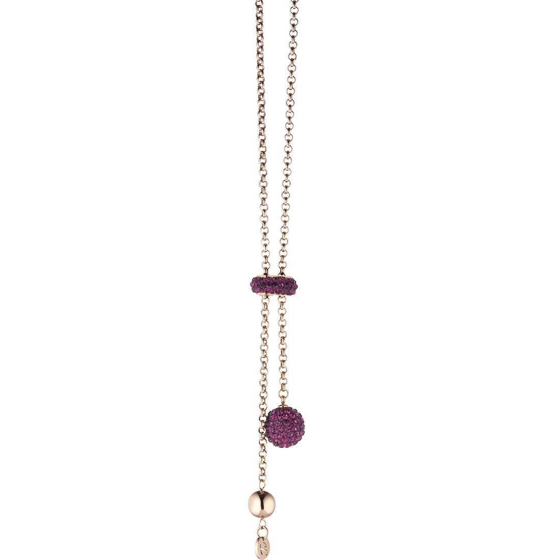 collier femme bijoux Luca Barra LBCK488