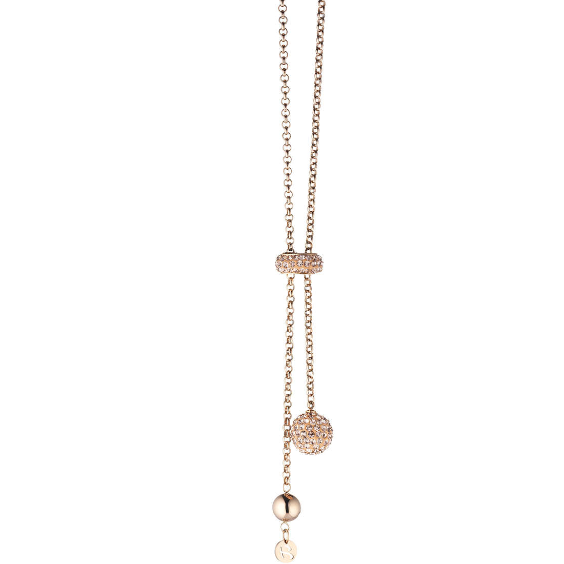 collier femme bijoux Luca Barra LBCK489