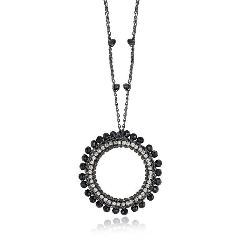 collier femme bijoux Luca Barra LBCK675