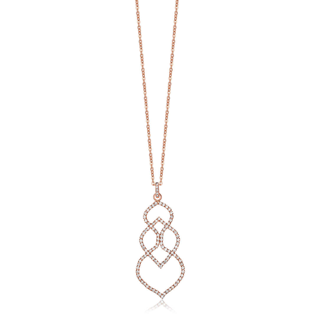 collier femme bijoux Luca Barra LBCK803