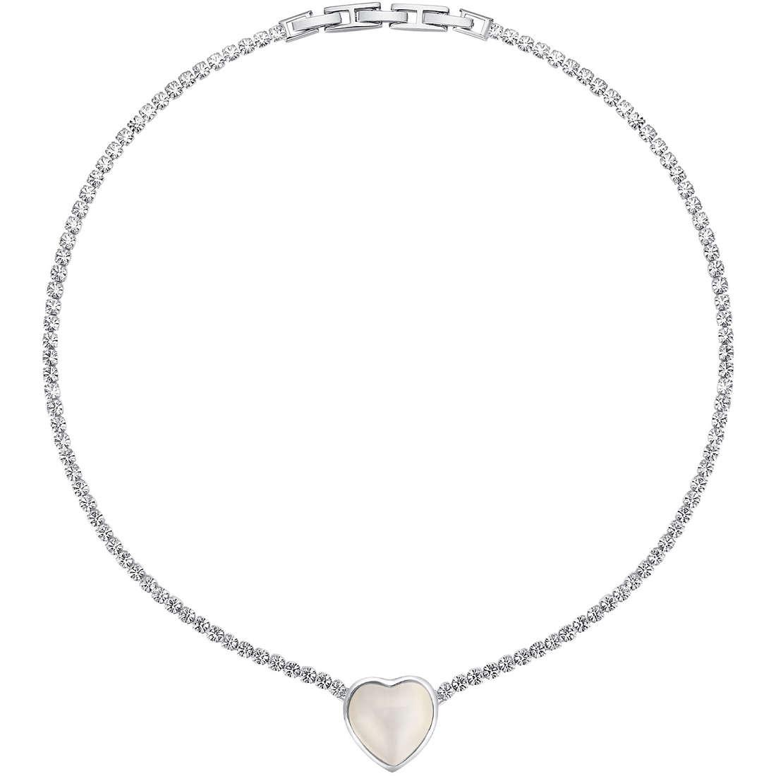 collier femme bijoux Luca Barra LBCK818