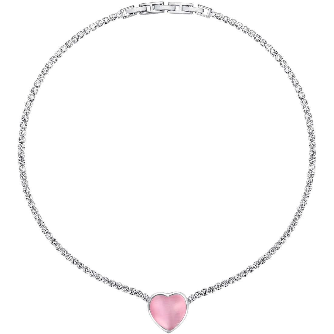collier femme bijoux Luca Barra LBCK819