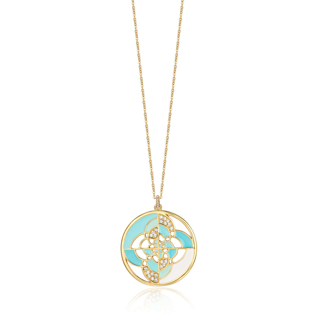 collier femme bijoux Luca Barra LBCK827