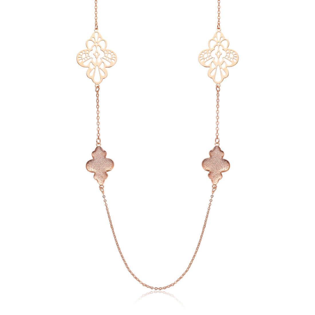 collier femme bijoux Luca Barra LBCK836