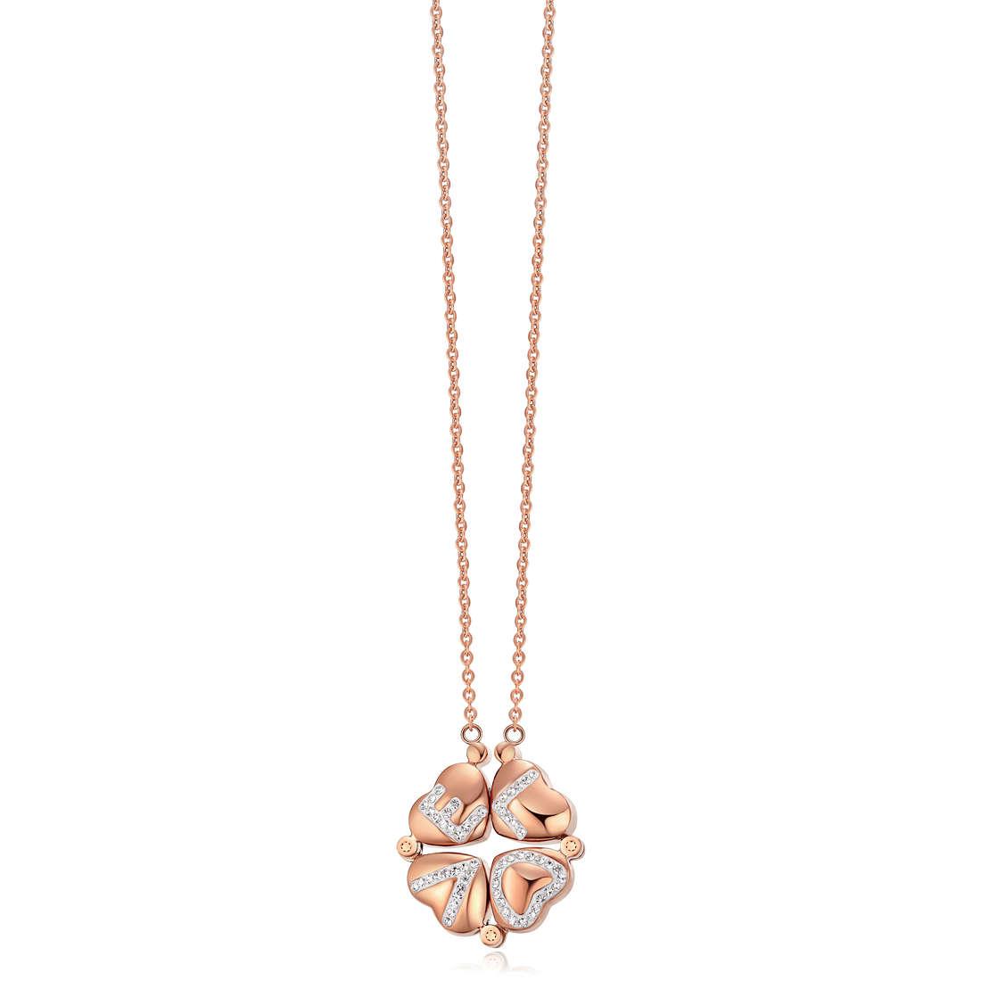 collier femme bijoux Luca Barra LBCK896