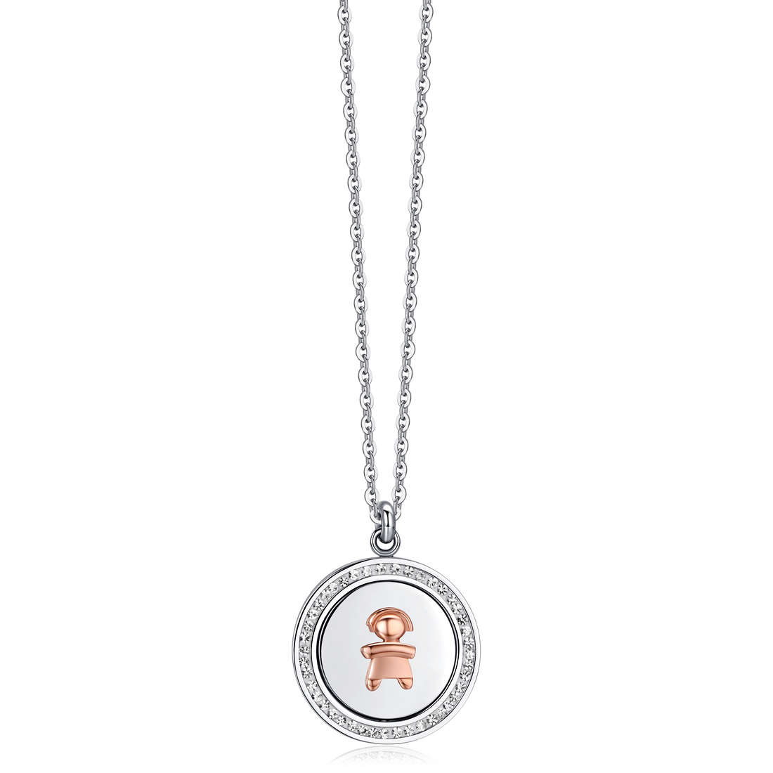 collier femme bijoux Luca Barra LBCK973