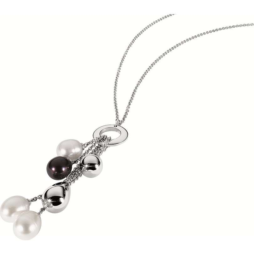 collier femme bijoux Morellato Black & White S8701