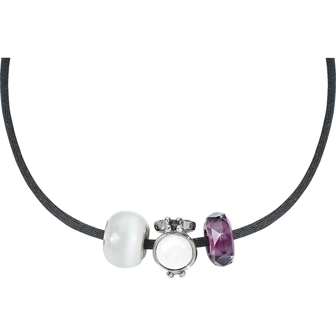 collier femme bijoux Morellato Black & White SCZ022