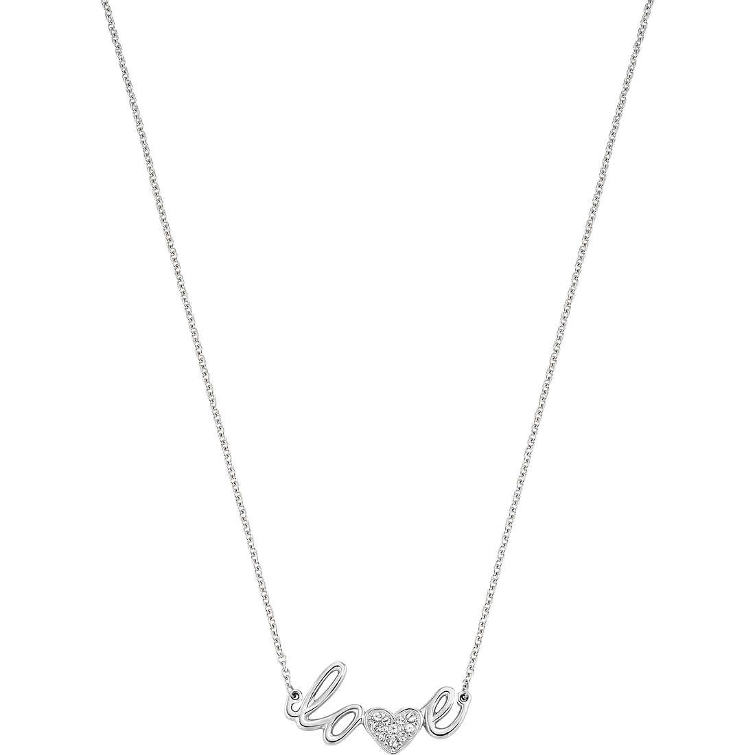 collier femme bijoux Morellato I-Love SAEU01
