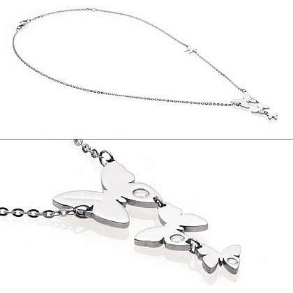 collier femme bijoux Nomination Butterfly 021321/001